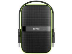 Зовнішній жорсткий диск Silicon Power Armor A60 2 ТБ Black