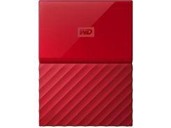 Зовнішній жорсткий диск Western Digital My Passport 1 ТБ Red