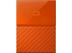 Зовнішній жорсткий диск Western Digital My Passport 1 ТБ оранжевий