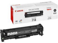 Оригінальний картридж Canon 718 Black