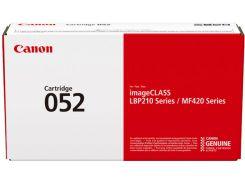 Оригінальний картридж Canon 052 Black (2199C002AA)