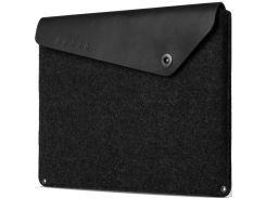 Чохол для ноутбука MUJJO Macbook Air 13 / Macbook Pro Black (MUJJO-SL-101-BK)