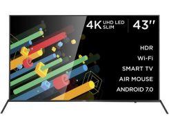 Телевізор LED Ergo 43DU6510 (Android TV, Wi-Fi, 3840x2160)