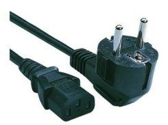 Кабель живлення Cablexpert PC-186-15CM 0.15m Black  (PC-186-15СМ)