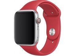 Ремінець Apple Sport Band for Apple Watch 44mm Red - S/M M/L  (MU9N2)