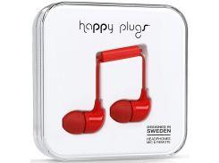 Гарнітура Happy Plugs Headphones In-Ear Red  (7716)