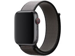 Ремінець HiC for Apple Watch 44mm - Sport Loop Dark Gray/Gray