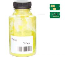 Тонер + чіп AHK for Kyocera Mita Ecosys P5021/P5026 TK-5240 50g Yellow