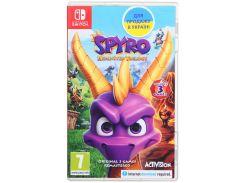 Гра Spyro Reignited Trilogy [Nintendo Switch, English version] Картридж