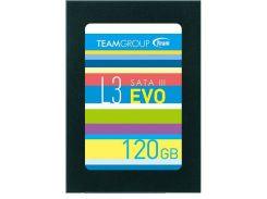 Твердотільний накопичувач Team L3 EVO (T253LE120GTC101) 120 ГБ
