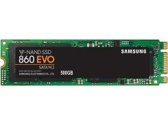 Твердотільний накопичувач Samsung 860 Evo 2280 500GB MZ-N6E500BW