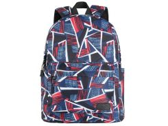 Рюкзак для ноутбука 2E TeensPack Absrtraction Red/Blue (2E-BPT6114RB)