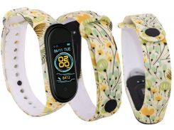 Ремінець Climber for Xiaomi Mi Band 4 - Yellow Flowers
