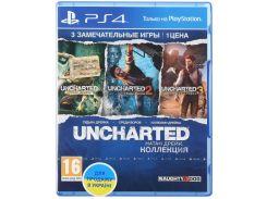 Гра Uncharted: Натан Дрейк. Коллекція [PS4, Russian version] Blu-ray диск