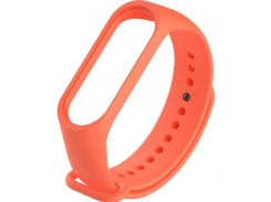 Ремінець Climber for Xiaomi Mi Band 4 - Original Style Silicone Single Color Orange  (CBXM407 Orange)