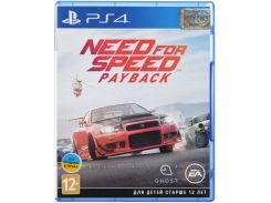 Гра NFS Payback 2018 [PS4, Russian version] Blu-ray диск