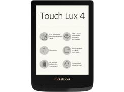Електронна книга Pocketbook Touch Lux 4 627 Black  (PB627-H-CIS)