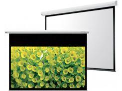 Проекційний екран GrandView CB-MP200(4:3)WM5 4.06x3.05м, стельовий настінний моторизований