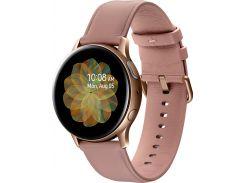 Смарт годинник Samsung Galaxy Watch Active 2 R830 40mm - Stainless steel Gold  (SM-R830NSDASEK)