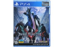 Гра Devil May Cry 5 [PS4, Russian version] Blu-ray диск
