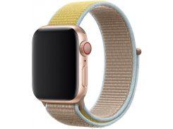 Ремінець Apple Sport Loop for Apple Watch 40mm Camel  (MWTU2)