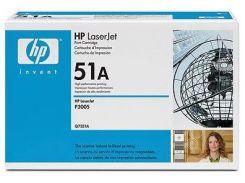 Оригінальний картридж HP 51A Black (Q7551A)