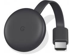 Медіаплеєр Google Chromecast 3nd Generation Black