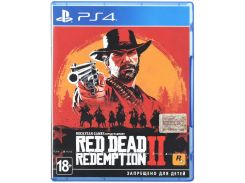 Гра Red Dead Redemption 2 [PS4, Russian subtitles] Blu-ray диск