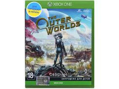 Гра The Outer Worlds [Xbox One] Blu-Ray диск