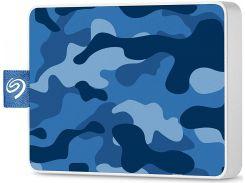 Зовнішній твердотільний накопичувач Seagate One Touch Special Edition 500GB STJE500406 Camo Blue