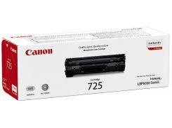 Оригінальний картридж Canon 725 Black (3484B002)