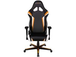 Крісло DXRACER Racing OH/RZ288/NOW Black/Orange/White