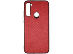 Чохол Milkin for Xiaomi redmi Note 8T - Creative Fabric Phone Case Red  (MC-FC-XN8TRD)
