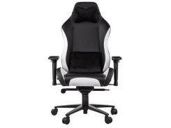 Крісло 2E GC24 Black/White  (2E-GC24BLW)