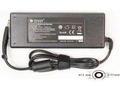 Блок живлення PowerPlant для ноутбука HP 18.5V, 6.5A, 120W, 7.4x5.0