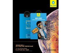 Захисне скло Blueo for iPhone Xr/11 Full Screen Anti-peep Black  (NPB10-6.1)