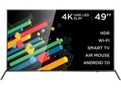 Телевізор LED Ergo 49DU6510 (Android TV, Wi-Fi, 3840x2160)