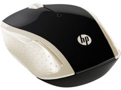 Миша HP Mice 200 Silk Gold  (2HU83AA)