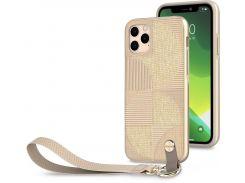 Чохол Moshi for Apple iPhone 11 Pro Max - Altra Slim Case with Wrist Strap Sahara Beige  (99MO117305)