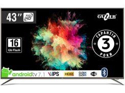 Телевізор LED Gazer TV43-FS2G (Android TV, Wi-Fi, 1920×1080)