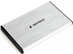 Кишеня зовнішня Gembird EE2-U3S-3-S Silver