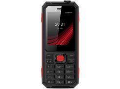 Мобільний телефон ERGO F248 Defender Black