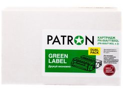 Картридж Patron  HP LJ CE285A/CANON 725 Dual Pack Green Label