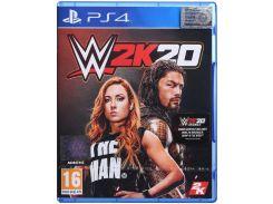 Гра WWE 2K20 [PS4, English version] Blu-Ray диск