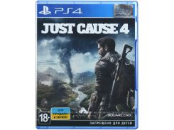 Гра Just Cause 4 [PS4, Russian version] Blu-ray диск