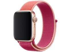 Ремінець Apple Sport Loop for Apple Watch 40mm Pomegranate  (MWTR2)