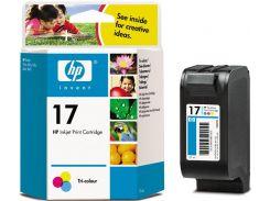 Оригінальний картридж HP 17 Color (C6625AE)