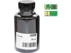 Тонер + чіп WWM for HP LJ Pro M252, Canon 045 Black бутль 45g