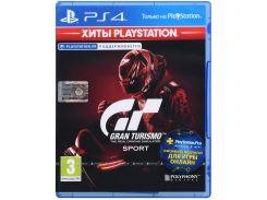Гра Gran Turismo Sport: Хіти PlayStation (підтримка VR) [PS4, Russian version] Blu-ray диск
