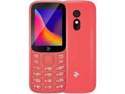 Мобільний телефон 2E E180 2019 Red  (680576170057)